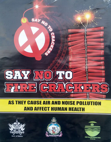 No to Firecrackers