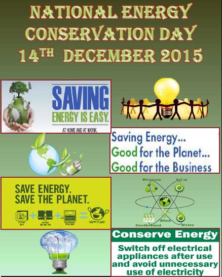 Essays on energy conservation