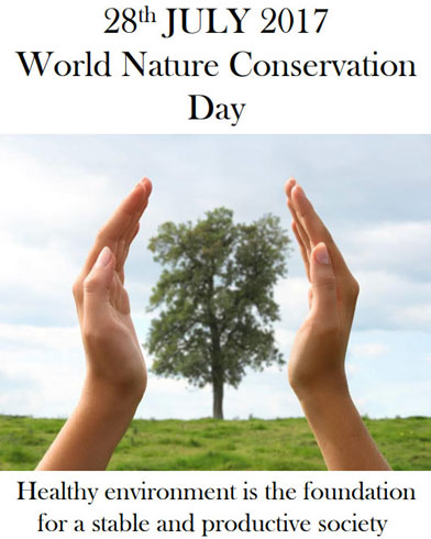 World Nature Conservation Day 2017