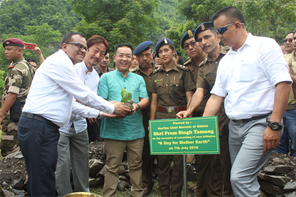 A Day for Mother Earth Observed in Sikkim